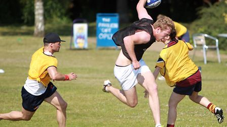 A touch rugby tournament run by Woodbridge Rugby Club, Suffolk Coastal District Council and Suffolk