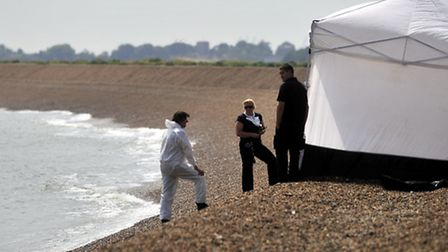 The body of Margaret Prentice was found on the beach at Shingle Street