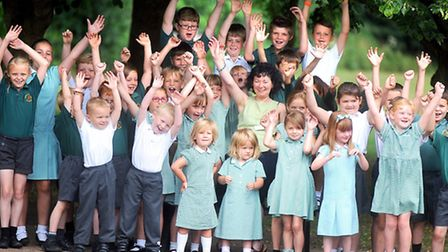 Deputy head, Pat McCullough, is retiring after 30 years from Freeman Primary School in Stowupland.