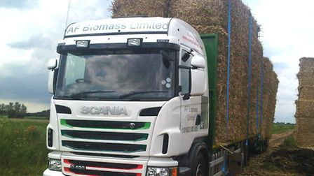 Straw marketing business AF Biomass has transported forage from East Anglia to farmers in north Wale