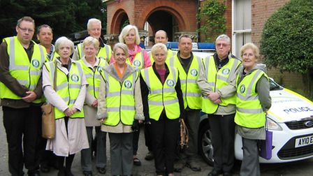 Sudbury volunteers at the launch of the new Streetwatch website
