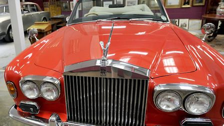 The eccentric Lord Bristol's 1975 Rolls Royce is being auctioned complete with a set of Elvis Priest