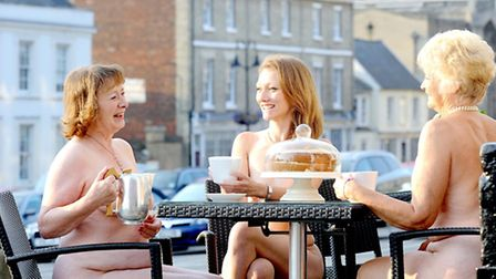 Ladies from the Bury St Edmunds Operatic and Dramatic Society who are staging Calendar Girls at the