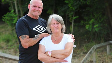 Ashley and Gloria Lake, from Homeport in Lowestoft, saw their dream £758 coach holiday to Costa Brav