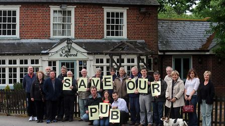 A community group in Bentley is looking to buy the Case is Altered pub in the village.