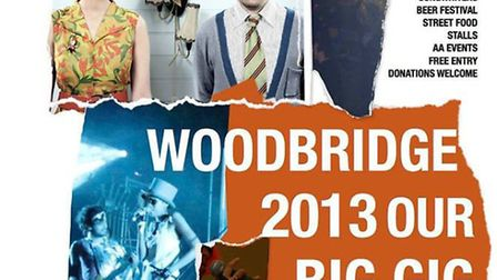 Our Big Gig in Woodbridge on July 13 and 14