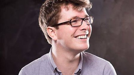 Kieran Boyd performs as part of the Corn Hall Comedy Club which returns to Diss Rugby Club on the 24