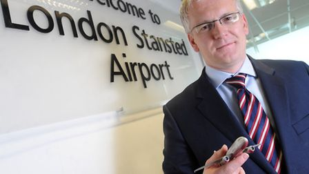 Andrew Harrison, Managing Director for Stansted Airport.