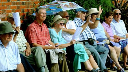 A sun kissed Spa Gardens in Felixstowe on Sunday afternoon for the Churches Together in Felixstowe P