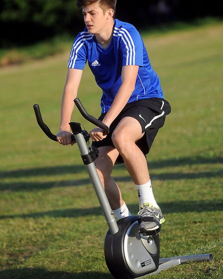 New team, Leiston FC Under 21s preparing for their new Ryman League Reserve season. Pictured is Kyra