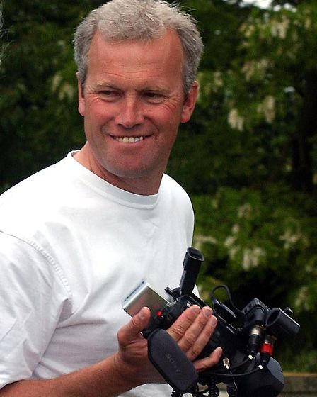 Suffolk-based director of photography Steven Hall who is supporting the Suffolk Film Festival based