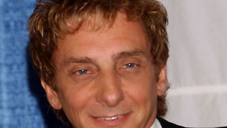American singer and composer Barry Manilow will perform at Portman Road
