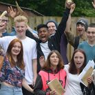 Ipswich Academy students celebrate their impressive set of GCSE results