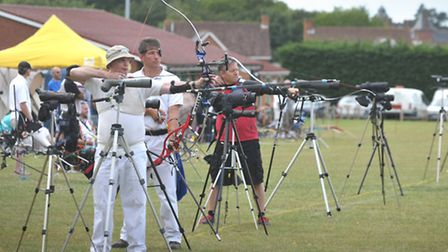 The Framlingham Bowmen hosted the 63rd East Anglian Championships on Sunday the 18th August, with ov