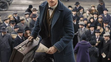 Eddie Redmayne as Newt Scamander in Fantastic Beasts and Where to Find Them. Picture: PA/WARNER BROS