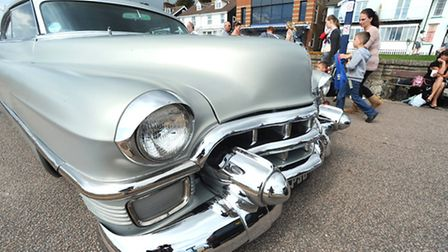 Those magnificent men and women and their driving machines: Hot rods and custom cars of all shapes a