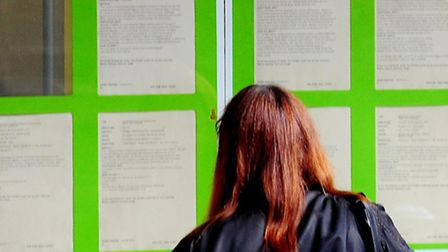 Unemployment numbers fell in East of England between April and June