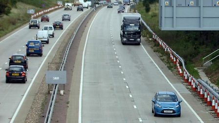 Motorists on the A12 face delays