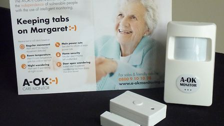 The A-OK Care Monitor device