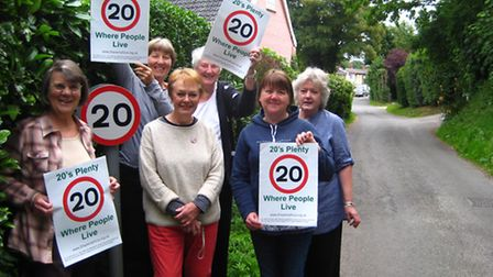 The village of Middleton-cum-Fordley has now got a blanket 20mph speed limit thanks to the efforts o