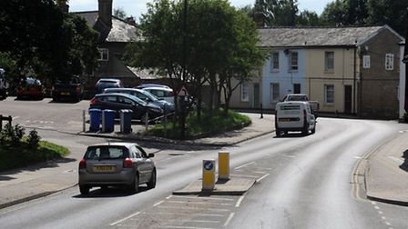 Mill Hill / Cross Street in Sudbury where there is a call for a pedestrian crossing.