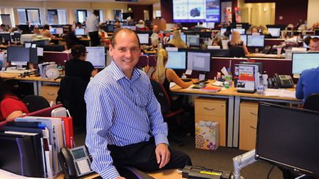 Stephen Fenby, MD of Midwich at Diss, distributers for audio visual products. Picture: Denise Bradle