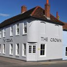 Exterior of The Crown at Woodbridge