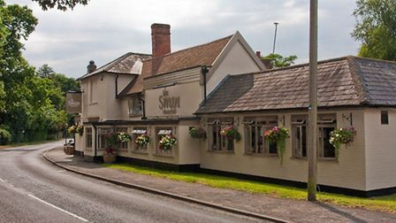 The newly-refurbished Westerfield Swan