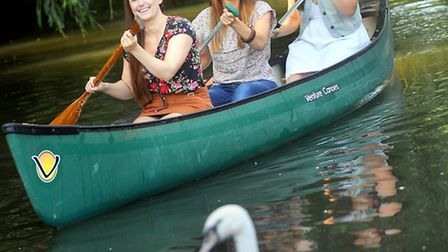 Sisters doing the annual Sudbury to the Sea canoe challenge in memory of their father who died from
