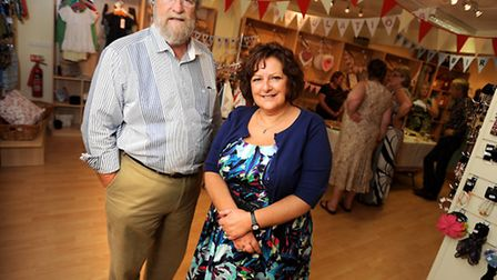 Stowmarket''s first Pop-up shop officially opened designed to encourage new businesses. The shop ven