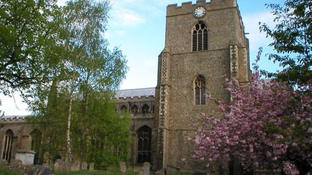 St Mary's Church in Bury St Edmunds