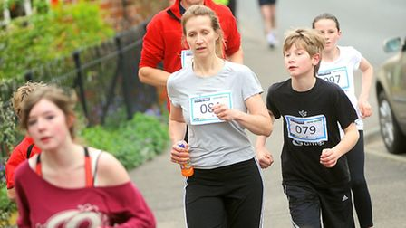 The 1st Debenham Fun Run which raised money for the village's pool project