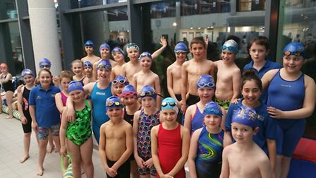 Diss Otters swimmers were very successful at Saturday's mini meet. Picture: Julie Munnings.