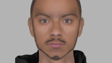 An efit of the man police want to identify in connection with a street robbery in Holland on Sea
