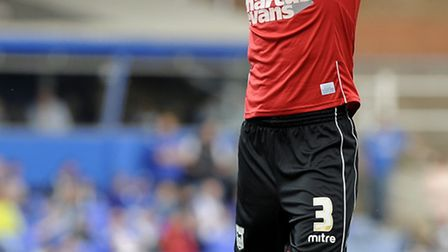 Aaron Cresswell holds his head after his second half chance was saved at Birmingham. PHOTO: PAGEPIX