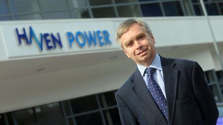 Peter Bennell at Haven Power in Ipswich.