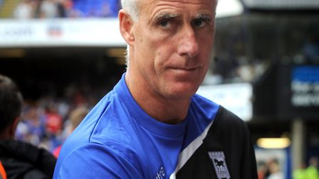 Ipswich Town manager Mick McCarthy.