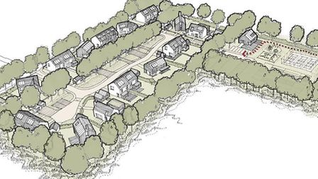 A community consultation will be held this evening in Bromeswell, near Woodbridge. Designs by Jerry
