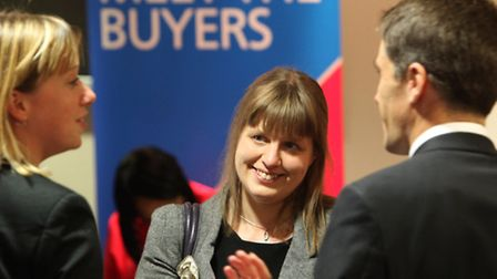 Delegates at a previous Meet The Buyers event at Stansted Airport