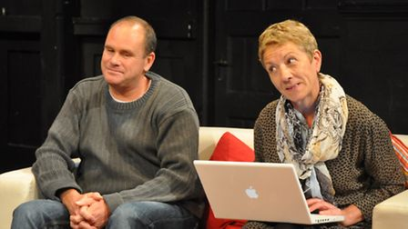 The God of Carnage, Megabrill Productions at the Sir John Mills TheatrePhilip Steward and Jayne L