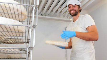Bungay Dairy Farmer Jonathan Crickmore has now started producing a new soft cheese.