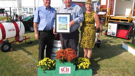 SCH (Supplies) Ltd's Ian Holder, driver, Andrew Rodwell, managing director, Jenny Wiggins, sales and