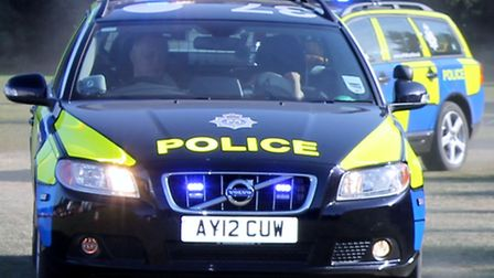 A14 slip road closed due to car fire
