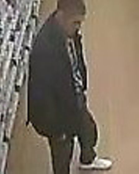 Police are searching for two men in connection with the theft of men�s face products from a Boots st