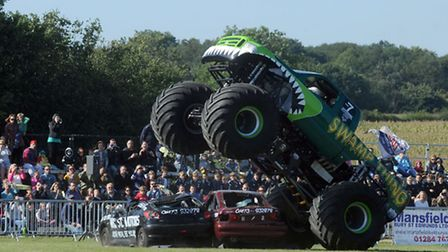 The monster trucks event in Barrow raising money for the East Anglia's Children's Hospices.