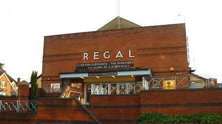 The Regal Theatre in Stowmarket