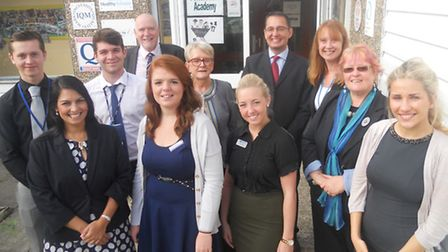 Teaching apprenticeship launch at Powers Hall Academy, Witham