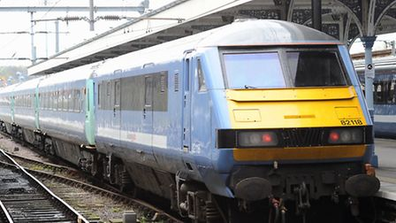 Train between Ipswich and Colchester cancelled