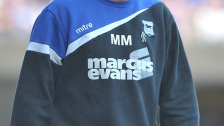 Ipswich manager Mick McCarthy.