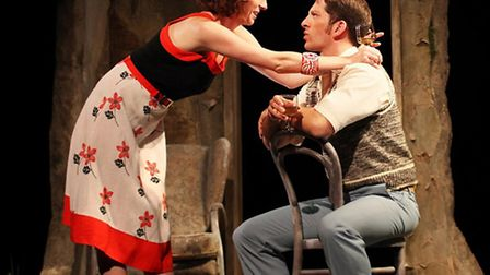 Scene from Harold Pinter's classic play Betrayal which is at Bury Theatre Royal.